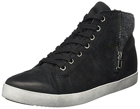Tamaris Damen 25283 Hohe Sneaker, Schwarz (Black), 37 EU