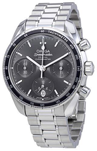 Omega Speedmaster co-axial grigio quadrante cronografo automatico mens...
