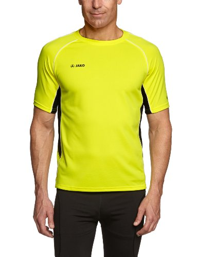 JAKO Herren T-Shirt Attack 2.0 Gelb/Schwarz