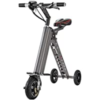 YTBLF Plegable Simple Mini Bicicleta Eléctrica Plegable Eléctrica Bicicleta De Litio Batería Scooter Patín Inteligente Adulto