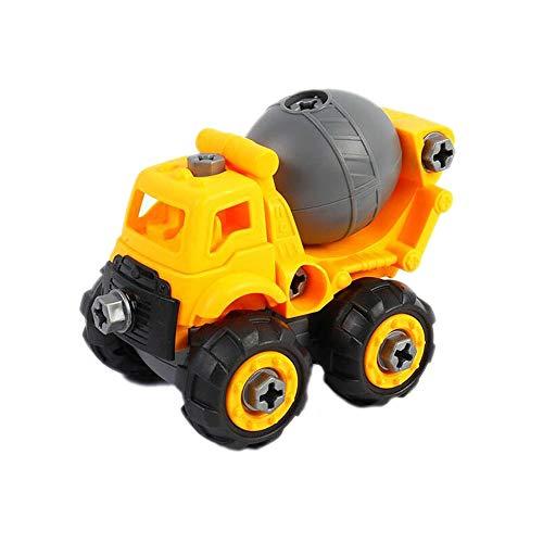 yywl Spielfahrzeuge Kinder Autobagger Engineering Demontage Montage Spielzeug pädagogische Blöcke Spielzeug mit Montage Schraube Treiber Mutter -