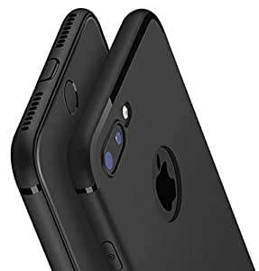 newest 67032 03e7a Generic Shock Proof Back Cover for Apple iPhone 7 Plus (Black)