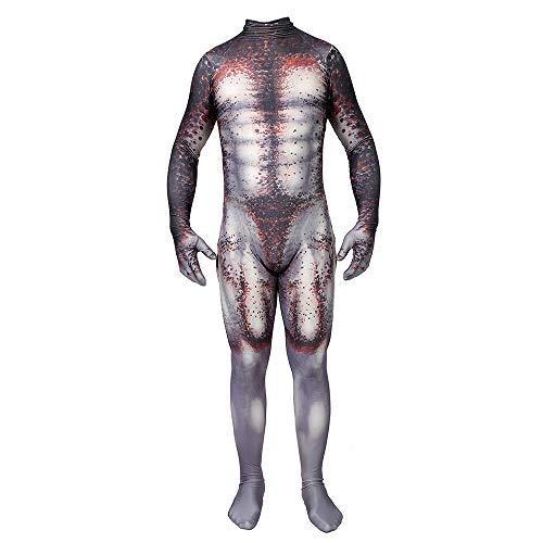 Hope The Predator Kostüm Siamese Strumpfhosen Cosplay Outfit Kostümfest Halloween Kleidung Elastische Bodysuit Strumpfhosen Maskerade Requisiten,Adult-XL
