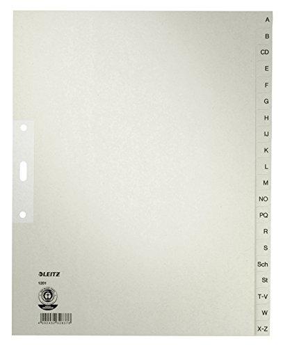 Preisvergleich Produktbild Leitz Register A-Z, 12010085
