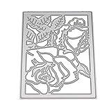 Xmiral Fustelle per Scrapbooking per Carta Cutting Dies Metallo Fustella Stencil #190313U, Accessori per Big Shot e Altre Macchina(D)