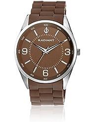 Radiant RA179203 - Reloj para hombre con correa de caucho, color marrón / gris