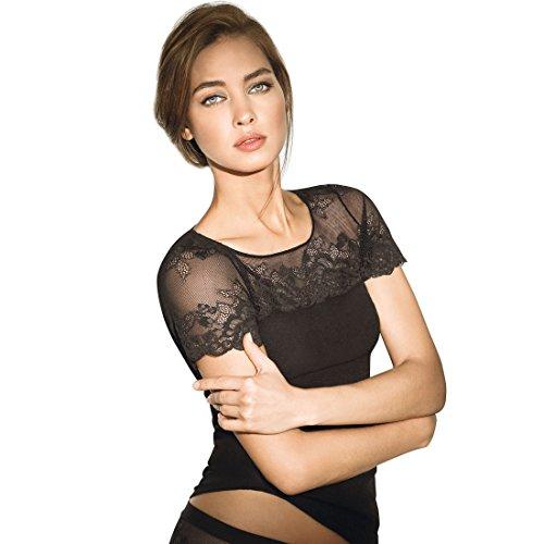 JANIRA Damen T-Shirt Schwarz