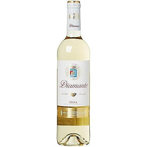 Diamante - Vino Blanco Rioja Semi Dulce Botella 75 cl