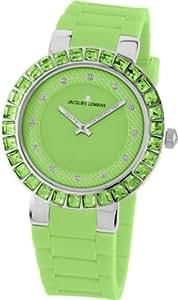 Jacques Lemans Damen-Armbanduhr La Passion Analog Quarz Silikon 1-1617F