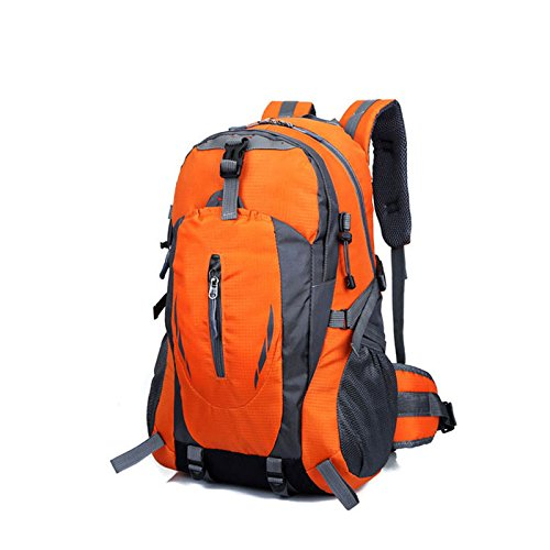 Hrph New Fashion Outdoor Sport Nylon Rucksäcke Frauen MenTravel Rucksack Bergsteigen Wandern Taschen Orange