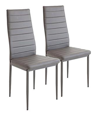 """Il SET di sedie MILANO porta un sapore tutto italiano nella tua sala da pranzo! """"Chic e pratico"""": ecco come si possono descrivere al meglio le caratteristiche del set di sedie MILANO.   Queste sedie convincono per la loro forma moderna, ma non da u..."""