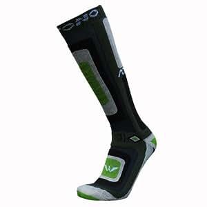 2 Paare Skisocken ATTONO® Ski Snowboard Socken Strümpfe Damen Herren (Größen 36-47)