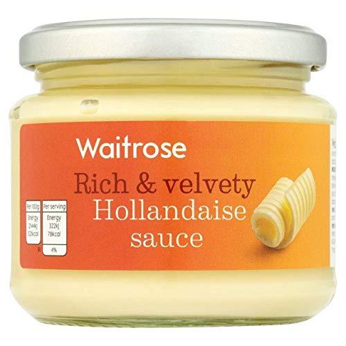 Waitrose Rich & Velvety Hollandaise Sauce 190g