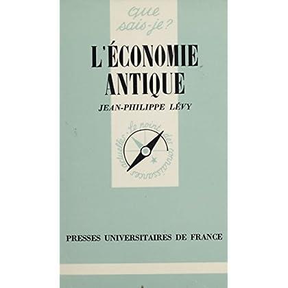 L'Économie antique (Que sais-je ?)