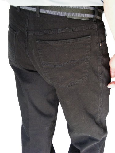 "Pionier Jeans ""Pure Comfort"" in Übergröße, black stone washed (61)"