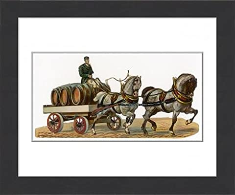 Framed Print Of Brewer s Dray Scrap
