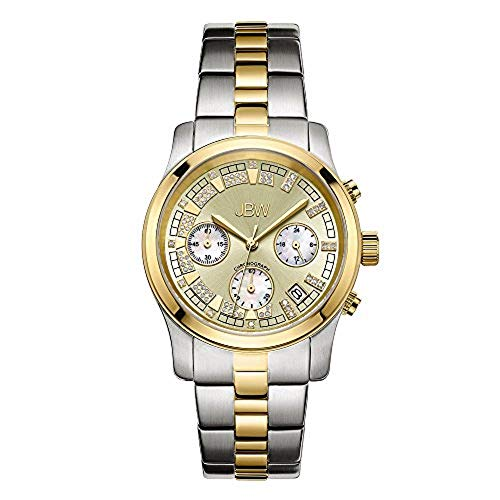 JBW Woman Quartz Watch Alessandra Silver/Gold 38 mm