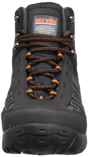 Adulto Segurança Impermeável S1p preto Preta Juro De Unisex Proteq Calçados 40x5wFq7O