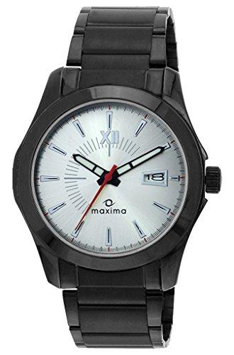 Maxima Attivo Analog Silver Dial Men's Watch - 25132CMGB image