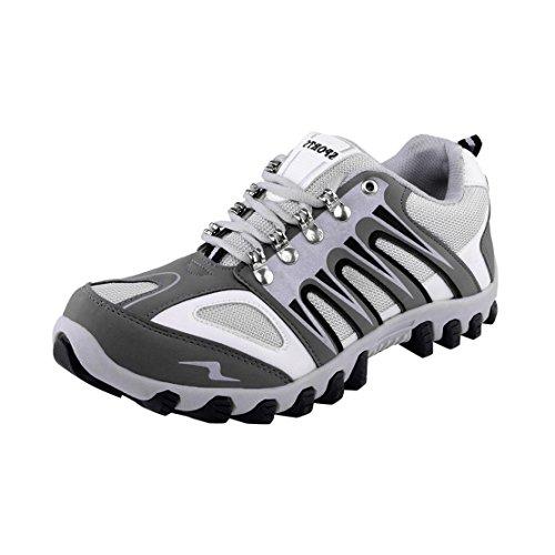 Lancer Men's LTR-0024 WHT-NBL-SBL-40 PU Sports Running Shoes 6 UK