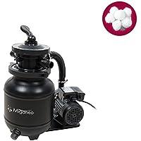 Miganeo Sandfilteranlage Dynamic 6500 schwarz inkl. Filterballs 403851
