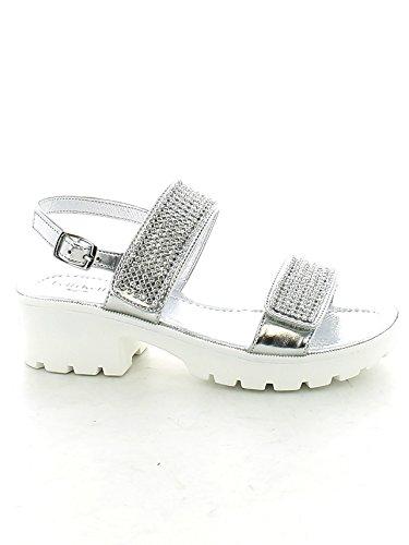 LELLI KELLY scarpe bambina sandali LK4482 SPLENDID ARGENTO taglia 30 Argento