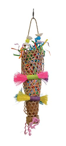 PREVUE PET PRODUCTS 62513Tropical plagegeistern Konfetti Kazoo Vogel Spielzeug