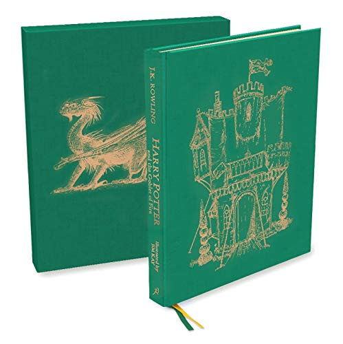 Harry Potter and the Goblet of Fire: Deluxe Illustrated Slipcase Edition