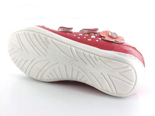 596 No Meio halbschuh 2731 Romagna Menina Velcro Rosa U8xCn7qqw5