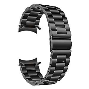 TRUMiRR Galaxy Watch 46mm/Gear S3 Armband, 22mm Solid Metal Edelstahlband Ersatz Uhrenarmband Business Armband für Samsung Gear S3 Frontier Classic Sport Smartwatch