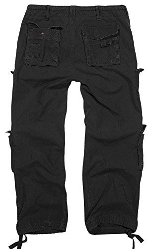 Brandit - Pantalon - Cargo - Uni - Homme Noir - Noir
