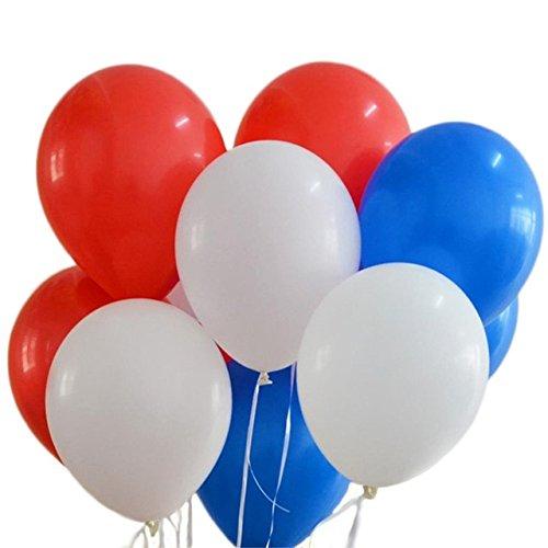 Toyland® Set von 30 Royal Wedding 2018 Ballons in Union Jack Farben