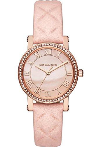 Michael Kors Damen-Armbanduhr Analog Quarz One Size, rosé, pink/rosé