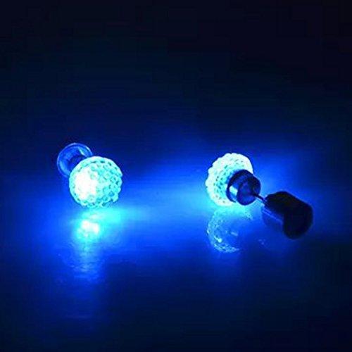 qhgstore-1pair-orecchini-led-luce-incandescente-bling-lucido-cristallo-dellorecchio-orecchino-blu