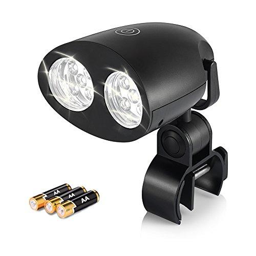 Uarter LED Grill-Licht mit super hellen 10 LED-Lichtern, empfindliche Touch Control