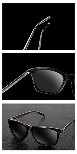 8be28630d03dc ... SUNMEET Gafas de sol Hombre Polarizadas Clásico Retro Gafas de sol para  Hombre UV400 Protection S1001 ...
