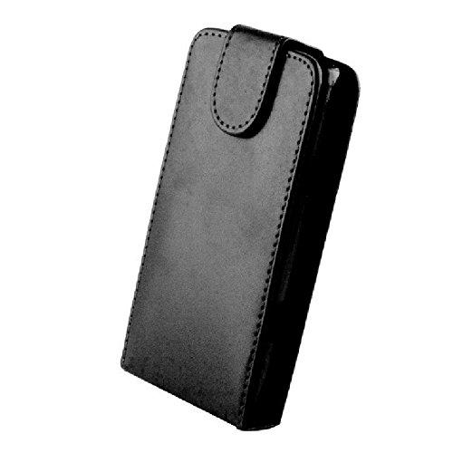 tag-24 Flipcase Handytasche Schutz Hülle sligo Tasche Flip Case Klapptasche Etui Cover passend für Huawei Ascend Y330 schwarz