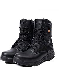 Amazon.it  stivali di pelle - Militare   Scarpe da lavoro  Scarpe e ... df4ba799b2a