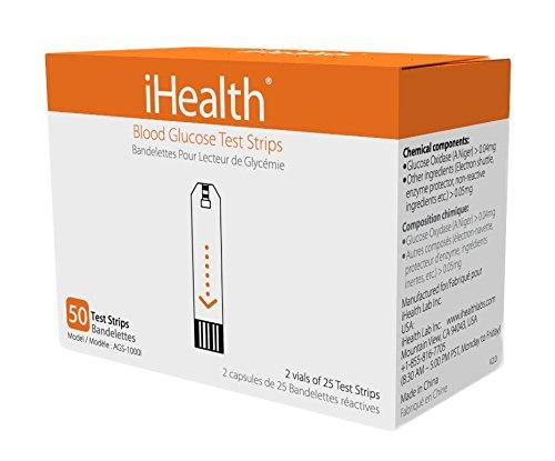 iHealth AGS1000I Blutzucker Teststreifen