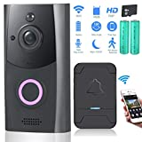 Zuzpao Video Doorbell, [2019 Updated] Wireless Smart Doorbell 720P HD WiFi Security Camera - Best Reviews Guide