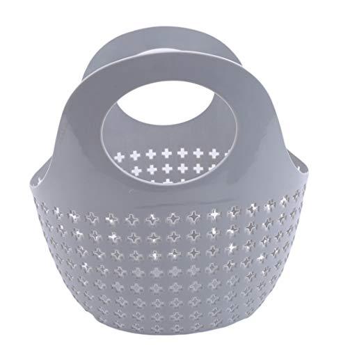 anizer Basket Dusche Caddy Halter Für Badewanne Badezimmer Baby Badesachen Lagerung (Grau) ()