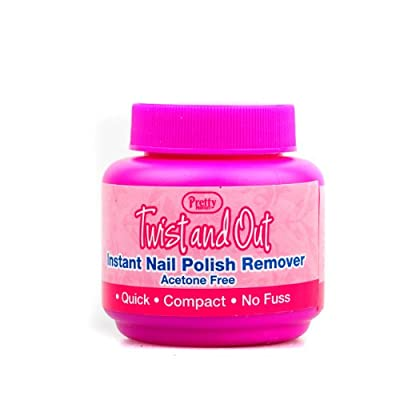 Pretty Perfect Twist And Out Instant Nail Polish Remover Acetone Free!