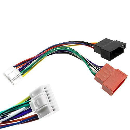 Alpine DIN ISO Auto Radio Adapter Kabel Stecker CDA CDE TDA TDM TDE CDM INA CVA Alpine-adapter