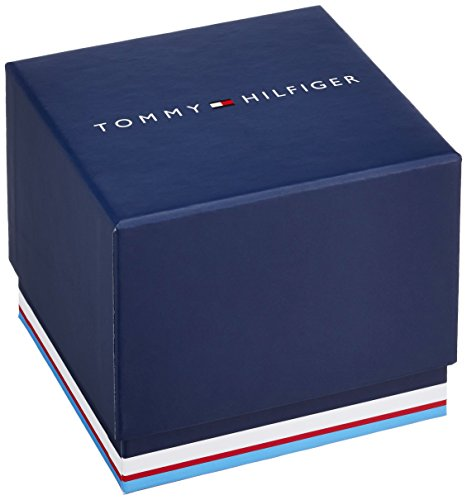 Tommy Hilfiger Herren-Armbanduhr Casual Sport XL Analog Quarz Leder 1710337 -