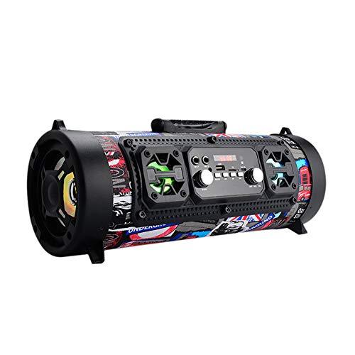YSCYLY Tragbare Lautsprecher 20 Watt drahtlose Bluetooth-Lautsprecher Stereo Sport Subwoofer Lautsprecher Outdoor-Radio Lautsprecher WiFi Bass Lautsprecher,C