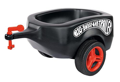 BIG 800056274 - Bobby Car Trailer Fulda, schwarz