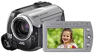 JVC GZ-MG135 HDD/SD Hybrid Camcorder (34fach opt. Zoom, 30 GB Festplatte, inkl. Docking-Station mit DVI-Ausgang)