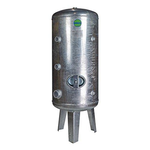Heider Druckkessel 500 Liter Druckbehälter 500l 6 bar stehend Druckwasserkessel Wasserdruckkessel verzinkt Wasserdruckbehälter Druckausgleichsbehälter
