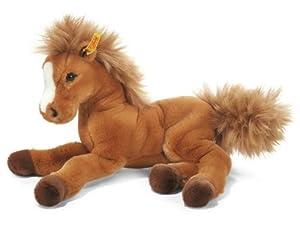 Steiff 70082 - Pony de peluche Fenny (35 cm), color marrón importado de Alemania