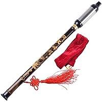 ultnice Fibra de Bambú hecha a mano de madera tradicional Dizi de llave G y F